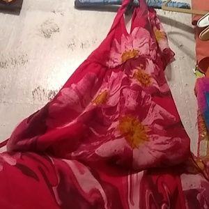 Long floral maxi